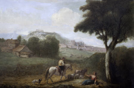 A Landscape with Figures (after Zuccarelli)