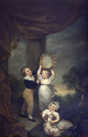 The Three Children of the 1st Viscount Anson: Thomas William Anson, later 1st Earl of Lichfield ...