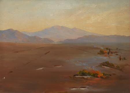 Landscape with Bonfires