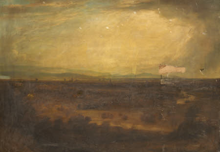 Landscape with an Industrial Town ('Manchester 100 Years Ago')