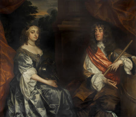 James, Duke of York, later King James II (1633 – 1701), and Anne Hyde, Duchess of York (1637 – ...