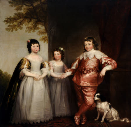The Woolaston White Children (inspired by Van Dyck)