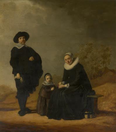 Dutch Family in a Landscape