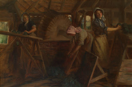 Work at the Old Woad Mill