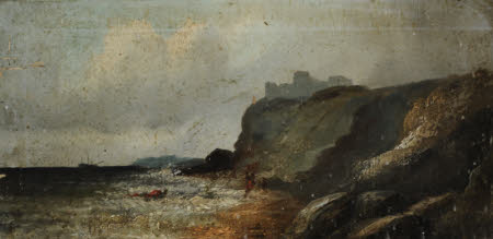 Coastal Scene with Castle