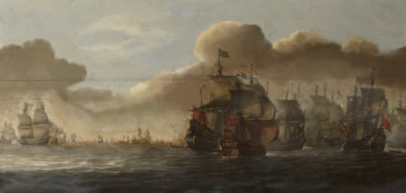 Naval Battle with Dutch and, possibly, Spanish Ships