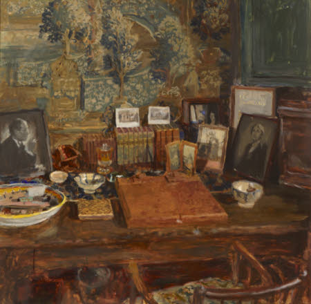 Vita Sackville-West's Writing-room in the Elizabethan Tower at Sissinghurst Castle