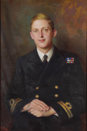Lt-Cdr Thomas Hornyold-Strickland, 7th Count della Catena (1921-1983)