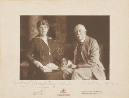 Beatrice Elizabeth Cowx, Lady Armstrong (1862-1934), William Henry Armstrong Fitzpatrick ...