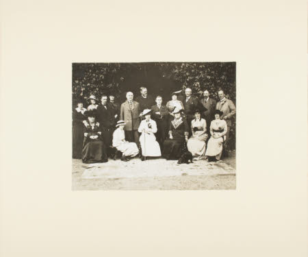 Group including William Henry Armstrong Fitzpatrick Watson-Armstrong, 1st Baron Armstrong of ...