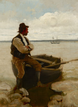 Ferryman at Flushing