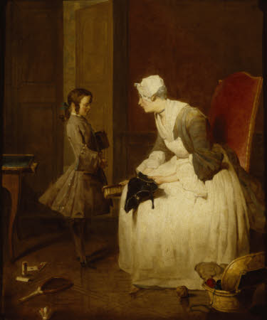 'La gouvernante' (The Governess)