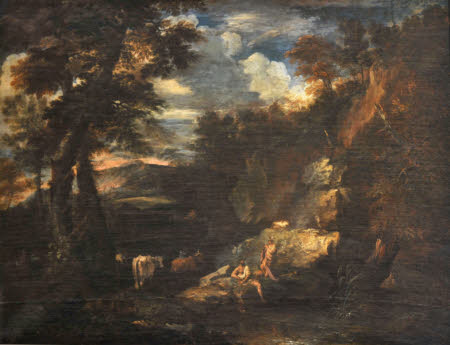 A Landscape with Mercury and Argus
