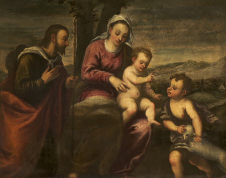 The Madonna and Child with the Infant St John the Baptist and St James the Greater