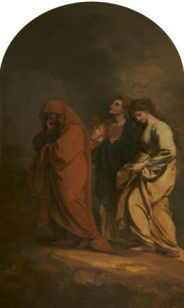 The Three Marys at the Sepulchre