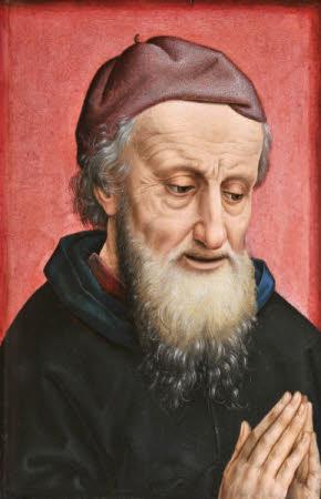 The Head of Saint Joseph of Arimathea in Prayer (after Rogier van der Weyden)