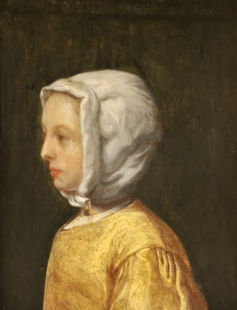 A Woman in Profile, possibly the Artist's Sister Gesina ter Borch