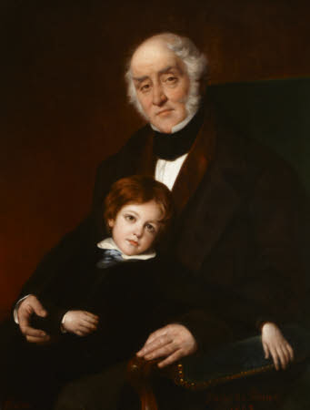 Walter McGeough Bond (1790 - 1866) with his Son Edward Staples McGeough Bond (1842 - 1891)