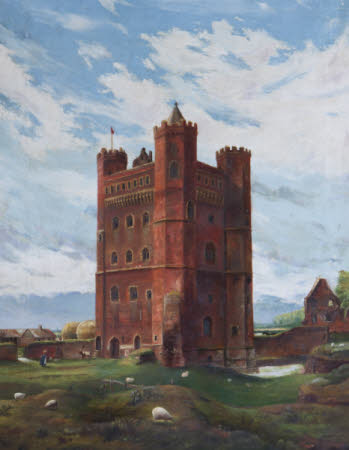 Tattershall Castle, Lincolnshire from the North-east