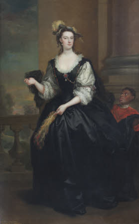 The Hon. Anne Howard, Lady Yonge (d.1775) and a Page