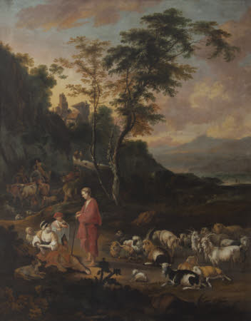 Shepherd and Shepherdess in a Landscape