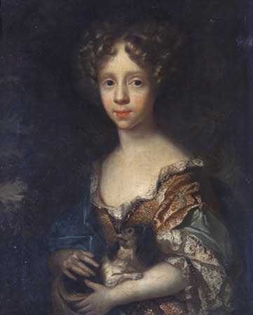 A Young Girl of the Vernon Family