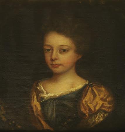 Elizabeth Chute, later Mrs Thomas Lobb as a Young Girl