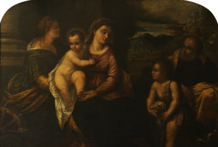 The Holy Family with Saint Catherine and the Infant Saint John