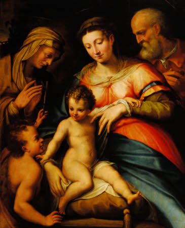 The Holy Family with the Infant John the Baptist and Saint Elizabeth