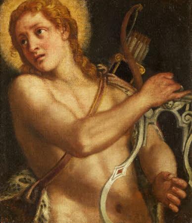 Apollo with a Lyre