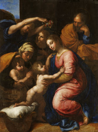 The Holy Family of François I (after Raphael)