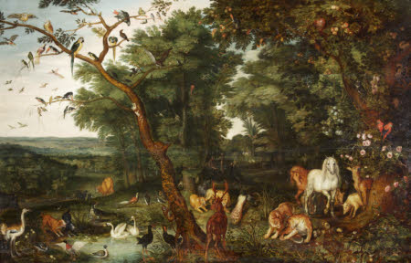 The Garden of Eden (after Jan Brueghel the elder)