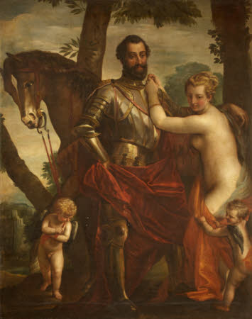 Mars and Venus with Cupids and a Horse (after Veronese)