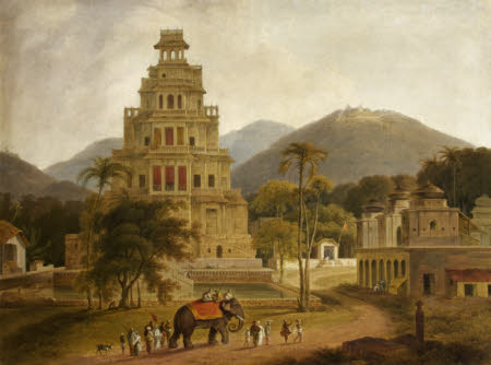 The Fort of Vellore in the Carnatic