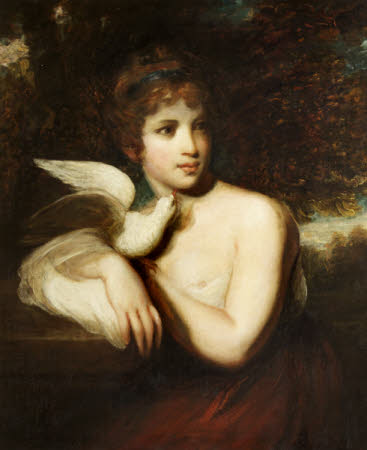 A Girl with a Dove