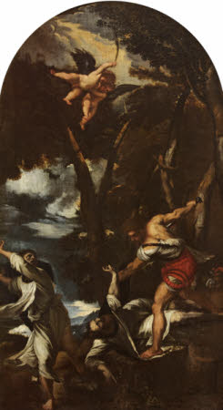 The Assassination of Saint Peter the Martyr (after Titian)