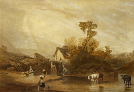 A Mill near Llangollen, North Wales