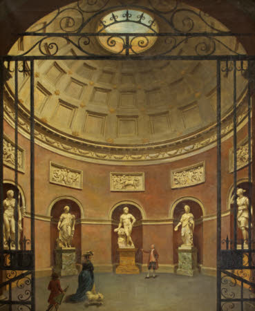 Interior of the Pantheon, Stourhead