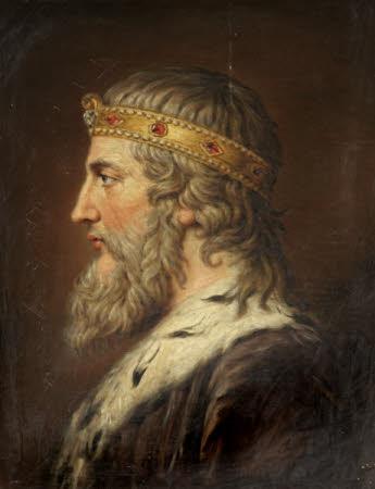 Head of King Alfred (after Rysbrack)