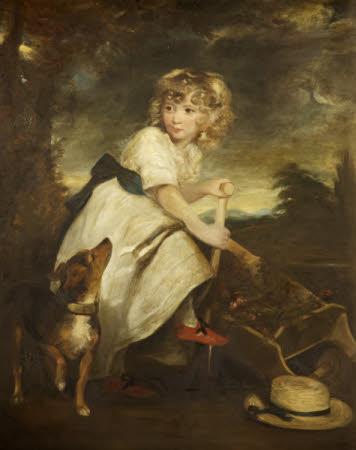 Master Henry Hoare (1784-1836) as a Boy Gardening