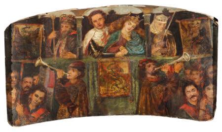 The Theodore Watts-Dunton Cabinet