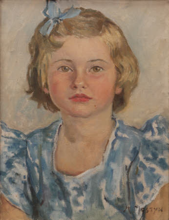 Anthea Loveday Veronica Mander, Mrs Lahr (1945 - 2004), as a child