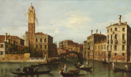 The Entrance to the Cannaregio, Venice