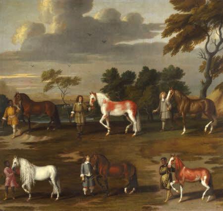 Six of the Duke of Newcastle's Manège Horses