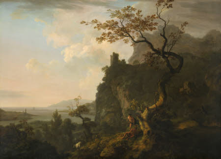 An Evening Landscape with Mercury and Argus