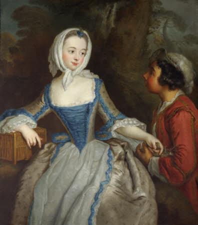 A Girl with a Birdcage
