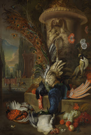 Still Life with Poultry and an Urn