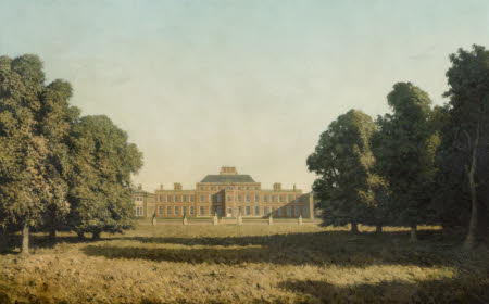 View of the North Façade, Wimpole Hall, Cambridgeshire