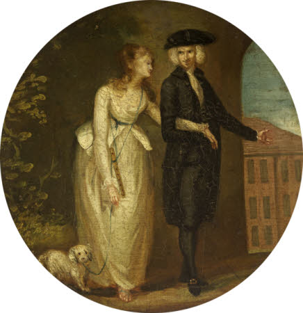 Mr Yorick and Maria ('A Sentimental Journey' by Laurence Sterne)
