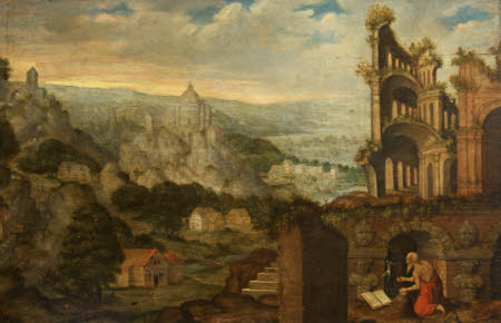 Saint Jerome in Penitence amongst Antique Ruins